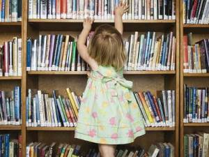 biblioteca fetita