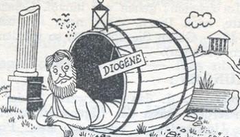 Diogene Caut un barbat