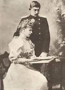Regele Ferdinand si Regina Maria. Prima fotografie dupa nunta