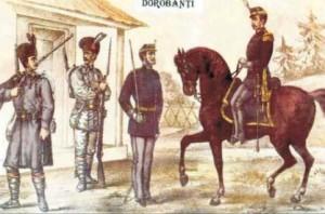 dorobanti uniforme militare