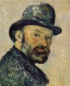 Cezanne-Autoportret-Pictura