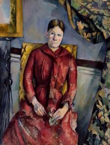 Doamna Cezanne - Marie-Hortense Fiquet