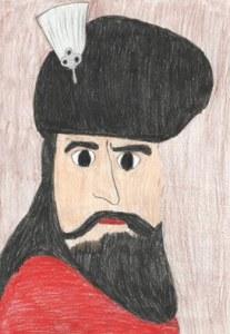 mihai viteazul portret desen