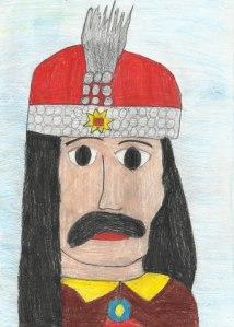 Vlad Țepeș, desen
