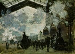 Claude Monet gara Saint-Lazare