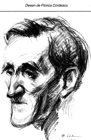George Bacovia desen