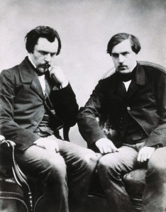 The brothers Edmond de Goncourt