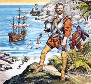 Francis Drake: Povestea unui erou