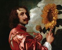 Anthony van dyck self portrait