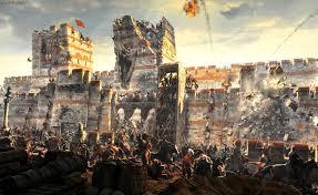 Cucerirea Bizanțului (III) Ziduri �