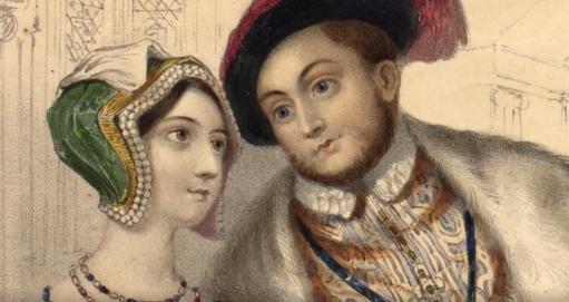 anne boleyn si henric VIII